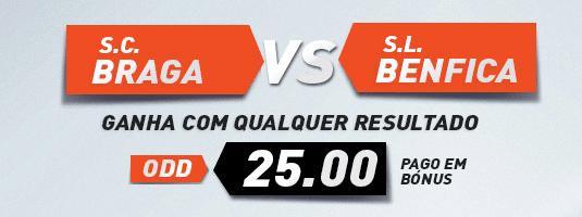 oddgasmo Braga Benfica