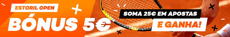 Apostas no Estoril Open com bónus