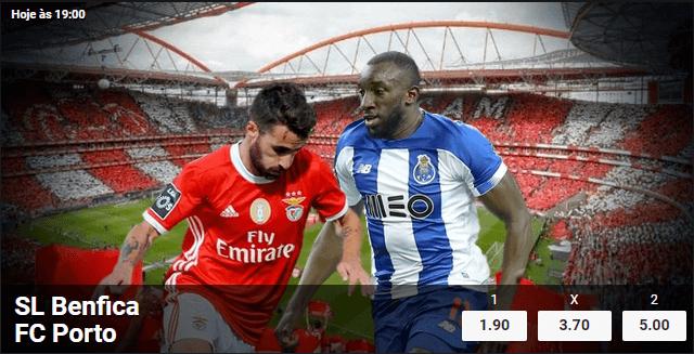 Benfica Porto na Betano