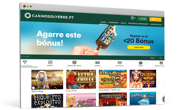 Casino Solverde - Slot machines, roleta e Blackjack online
