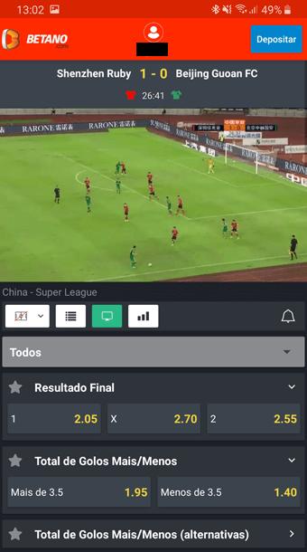 Live Stream Betano app mobile