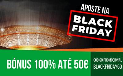 Black Friday Nossa Aposta: 50 euros de bónus para todos