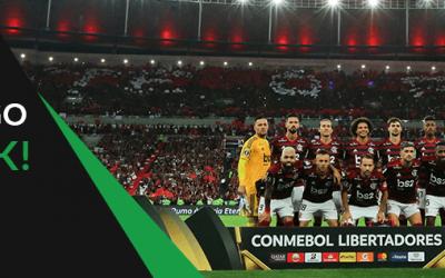 Cashback ESC Online na final da Copa Libertadores