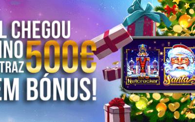 O Natal chegou à Nossa Aposta com 500 euros em bónus