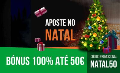 Nossa Aposta: código de bónus para o Natal