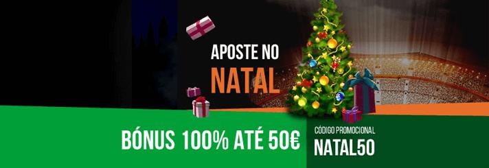 Código de bónus Nossa Aposta Natal 2019
