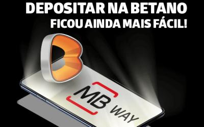 Novidade na Betano: MB WAY já está disponível