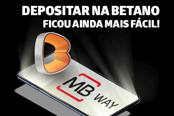 Novidade na Betano Online: MB WAY Já Está Disponível