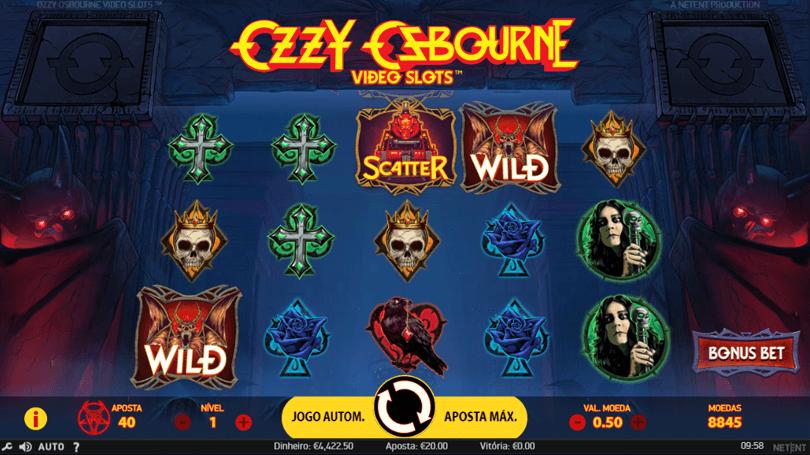 Slot Machine Ozzy Osbourne da Netent na ESC Online