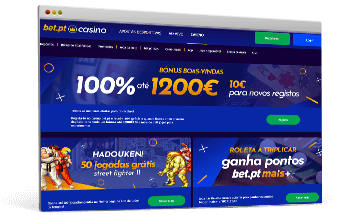 Bet.pt Casino legal em Portugal