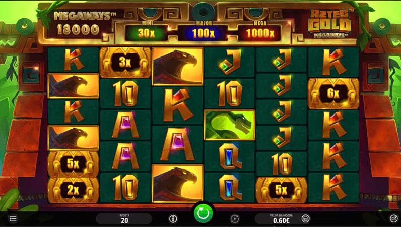 Slot Machine Aztec Gold Megaways da iSoftBet