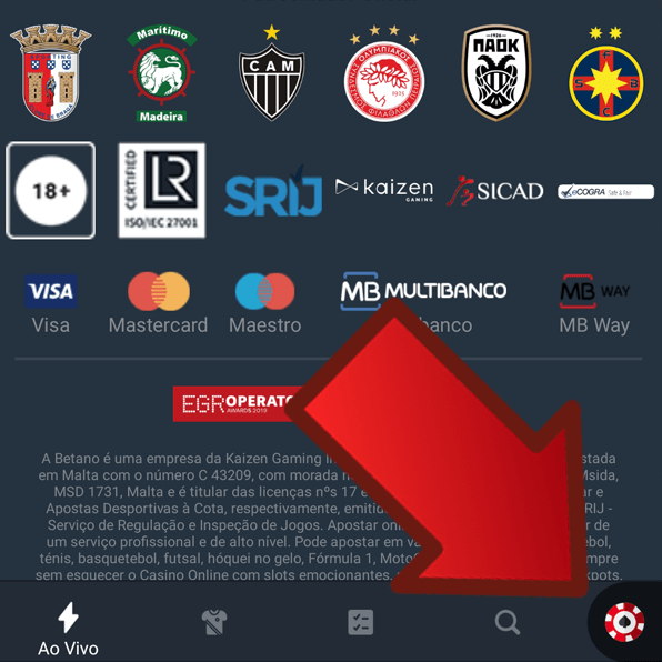 Betano app – Apostas Online e Casino no Smartphone