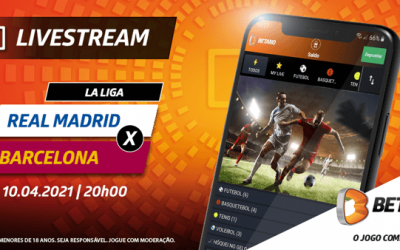 Real Madrid – Barcelona com Live Stream e Super Odds