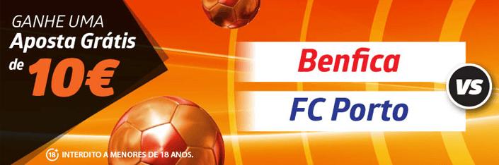 Aposta grátis Betano no Benfica – Porto